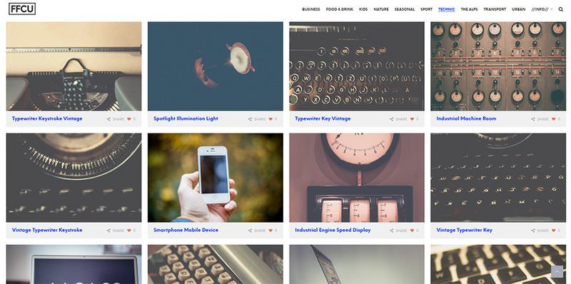 Free For Commercial Use – A New CC0 Stock Photo Site