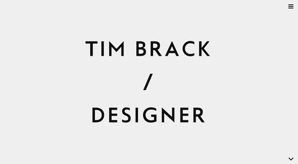 20 Minimalist Portfolio Designs For Your Inspiration