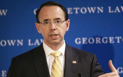 Deputy AG Rod Rosenstein Is Still Calling for an Encryption Backdoor