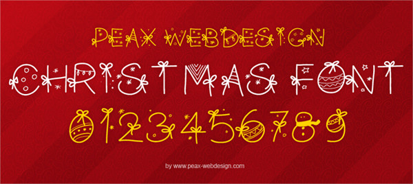 20 Free Fonts to Design for Christmas