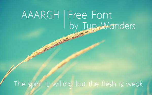 20 Ultra Light and Elegant Fonts for Web Designers