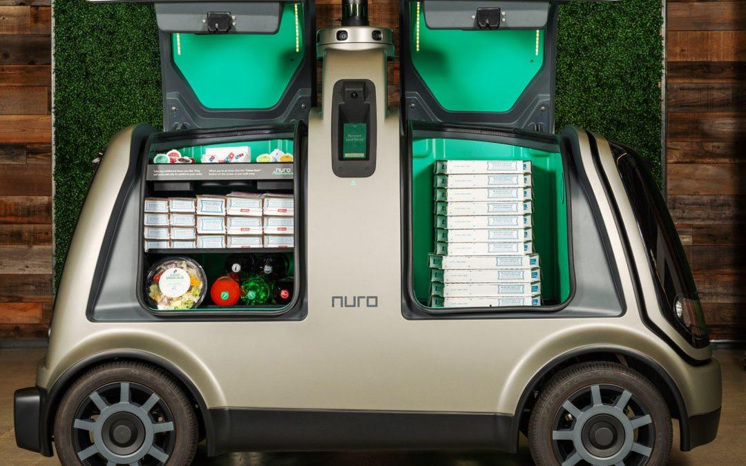 Nuro's Pizza Robot Will Bring You a Domino's Pie