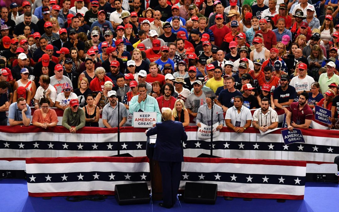 President Trump's Re-Election Rally Tops This Week's Internet News Roundup