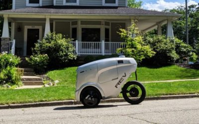 This Food-Delivery Robot Wants to Share the Bike Lane