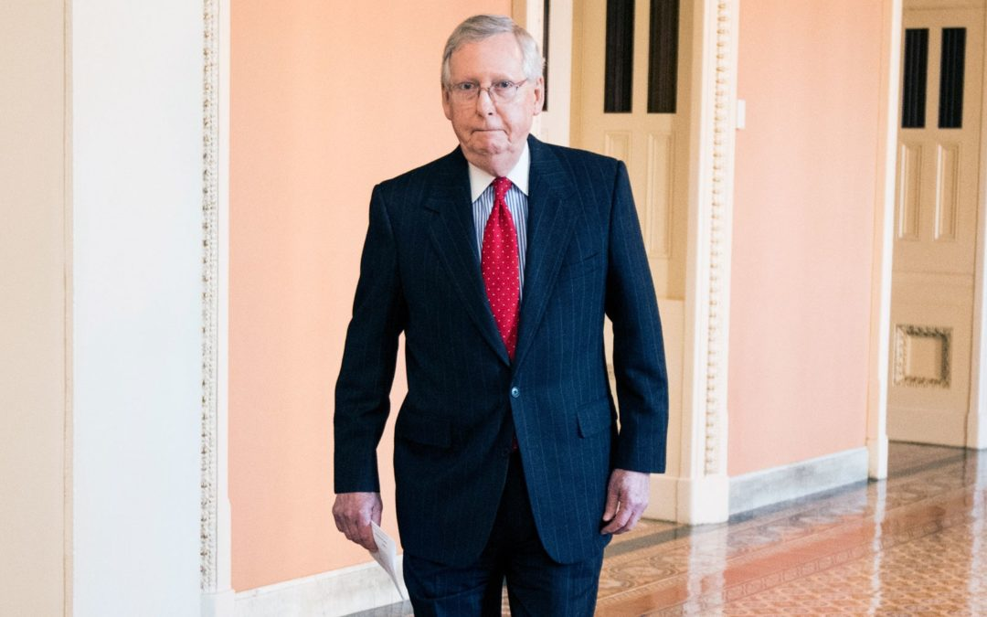 Mitch McConnell's New Nickname Tops This Week's Internet News Roundup