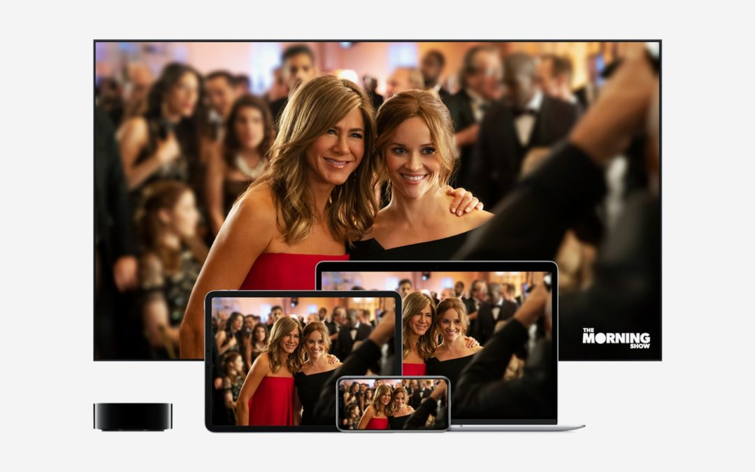 Apple TV+ Launches November 1; Subs Will Cost $5 a Month