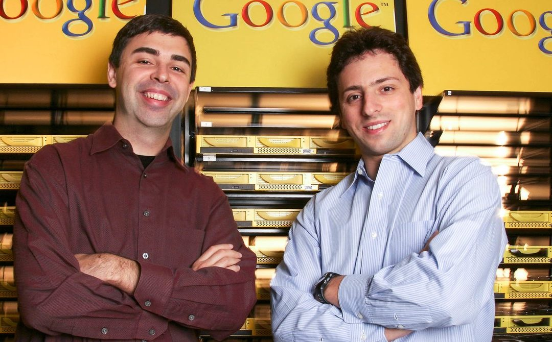 Larry Page and Sergey Brin Hand Over Alphabet's Reins