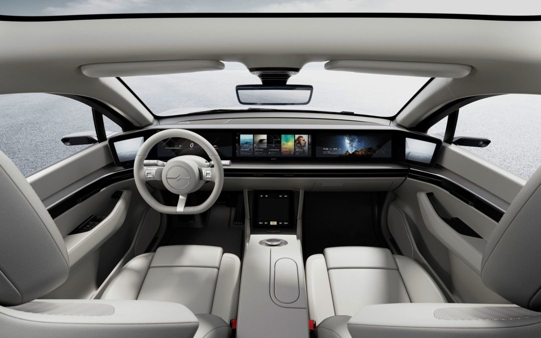 Sony's Concept Car Puts Entertainment in the Driver's Seat