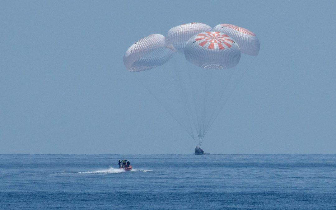 SpaceX Brings Astronauts Home Safely in a Historic First