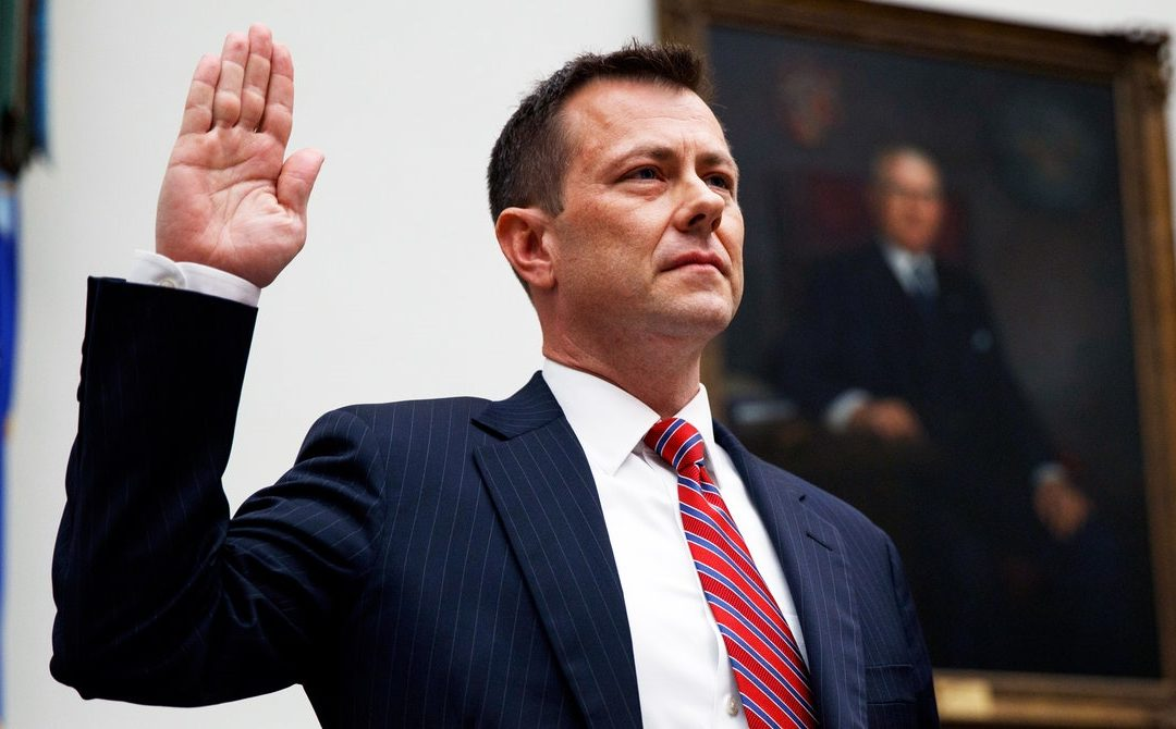Peter Strzok Has a Warning About Russia—and Trump