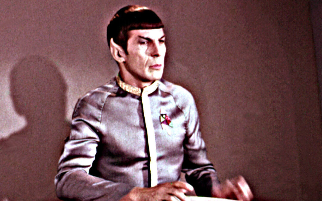 Turns Out, Spock Is Kinda Bad at Logic